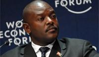Pierre NKURUNZIZA | Presidente de Burundi