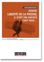 FRANCÉS - Informe sobre la libertad de prensa en Kosovo