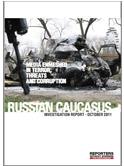 INGLÉS. Informe Cáucaso. RSF. Octubre de 2011