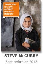 RSF | 100 Fotos de STEVE McCURRY por la Libertad de Prensa