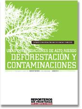 Descargar el Informe sobre Medio Ambiente de Reporteros sin Fronteras. Junio de 2010