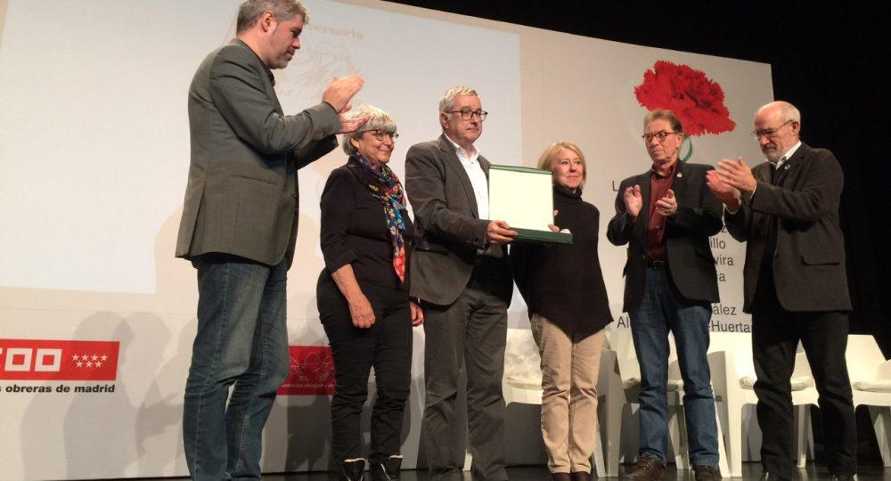 RSF España recibe el premio Abogados de Atocha el 24 de enero de 2018