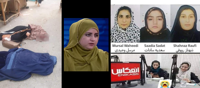 AFGANISTÁN | Asesinadas en plena calle tres jóvenes colaboradoras de un canal de televisión